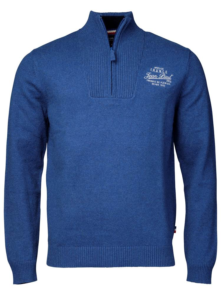 4fc3c239 Platini Zip Genser Insignia Blue | Boys of Europe
