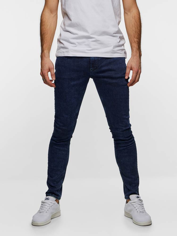 SKINNY STAN DARK BLUE SUPER STRETCH