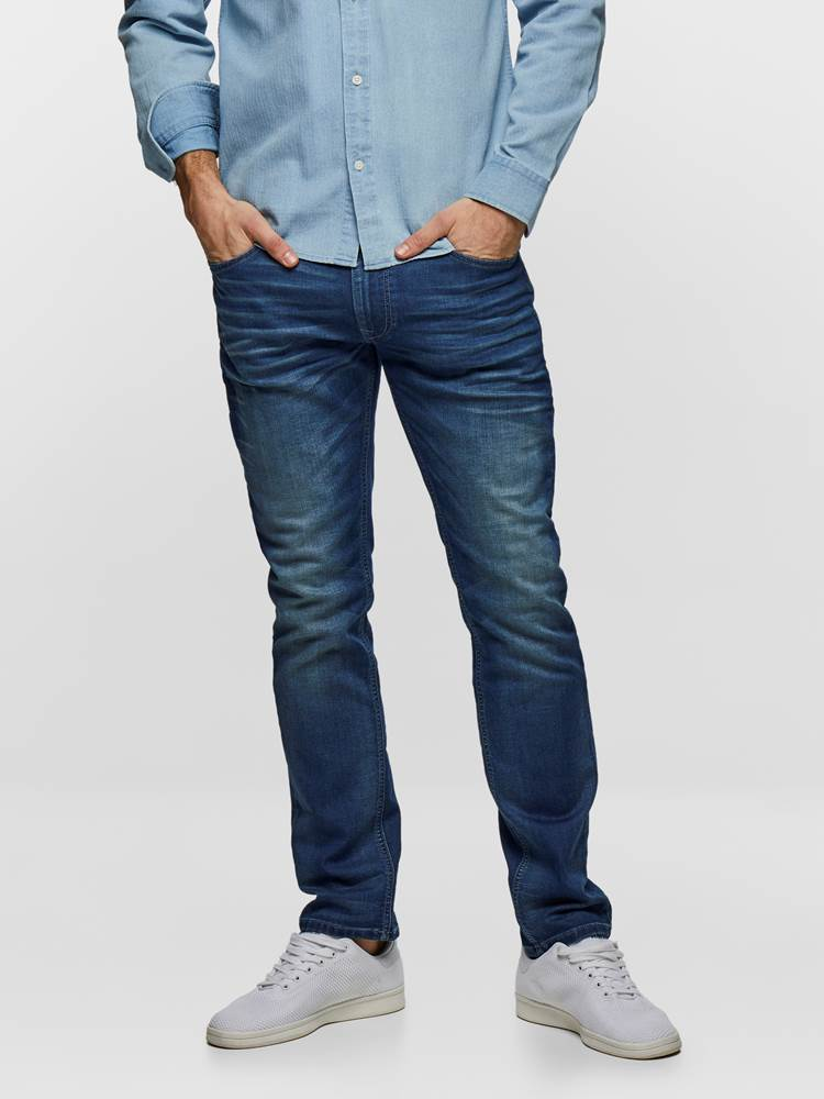 SLIM WILL KNIT STRETCH 7237538_DAB-HENRYCHOICE-S19-Modell-front_6154_SLIM WILL KNIT STRETCH JEANS DAB_SLIM WILL KNIT STRETCH DAB.jpg_Front||Front