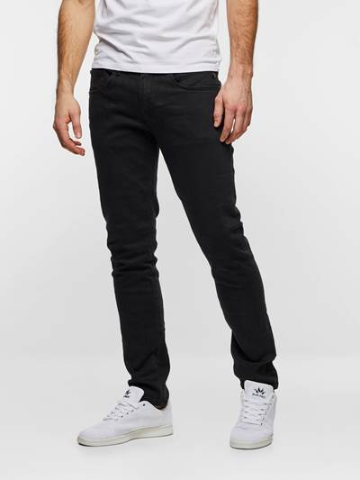 SLIM WILL BLACK STRETCH D03