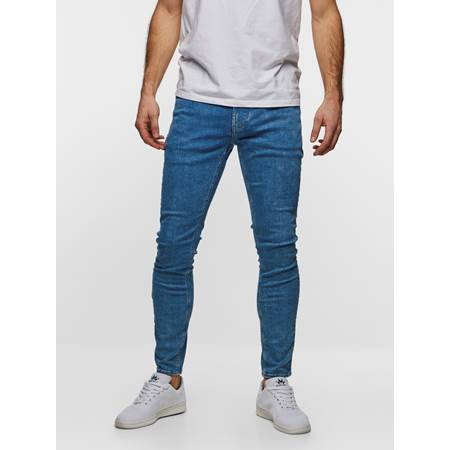 SKINNY STAN BLUE SUPER STRETCH