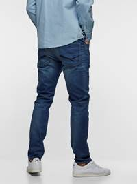 SLIM WILL KNIT STRETCH 7237538_DAB-HENRYCHOICE-S19-Modell-back_35721_SLIM WILL KNIT STRETCH JEANS DAB_SLIM WILL KNIT STRETCH DAB.jpg_Back||Back