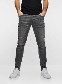 SKINNY STAN GREY SUPER STRETCH 7237557_DAA-HENRYCHOICE-S19-front_77436_SKINNY STAN SUPER STRETCH DAA_Skinny Stan Grey Super Str._SKINNY STAN GREY SUPER STRETCH DAA.jpg_Front||Front