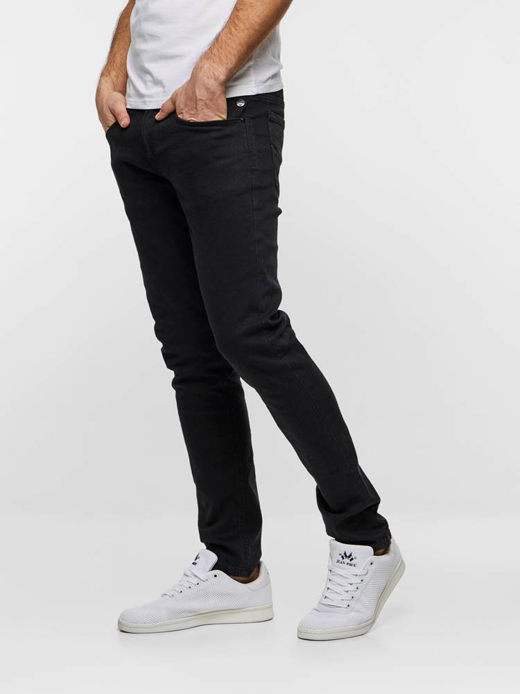 SLIM WILL BLACK STRETCH 7237534_D03-HENRYCHOICE-S19-left_26811_Slim Will Black Str._SLIM WILL BLACK STRETCH D03.jpg_Left||Left
