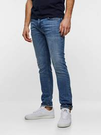 SLIM FIT STRETCH 7237558_DAD-MADEBYMONKIES-S19-left_86050_SLIM FIT STRETCH JEANS DAD_Slim Fit Stretch Jeans_SLIM FIT STRETCH DAD.jpg_Left||Left