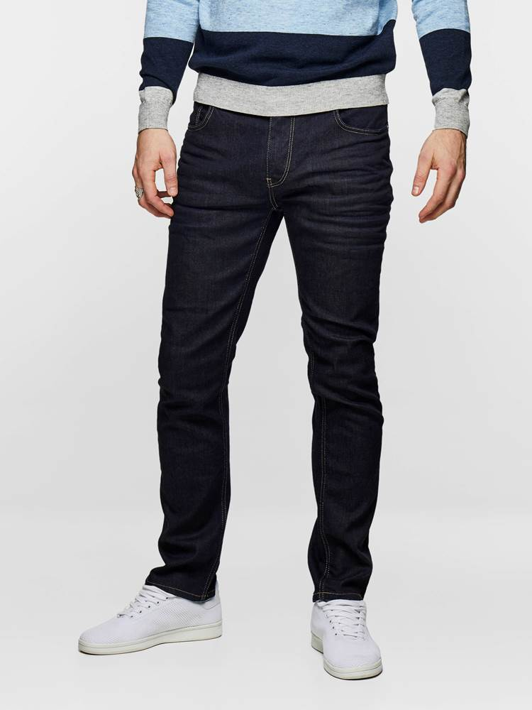 SLIM FIT STRETCH 7235367_D03_MadeByMonkeys_S19-modell-front_SLIM FIT STRETCH JEANS  D03_SLIM FIT STRETCH D03.jpg_Front||Front