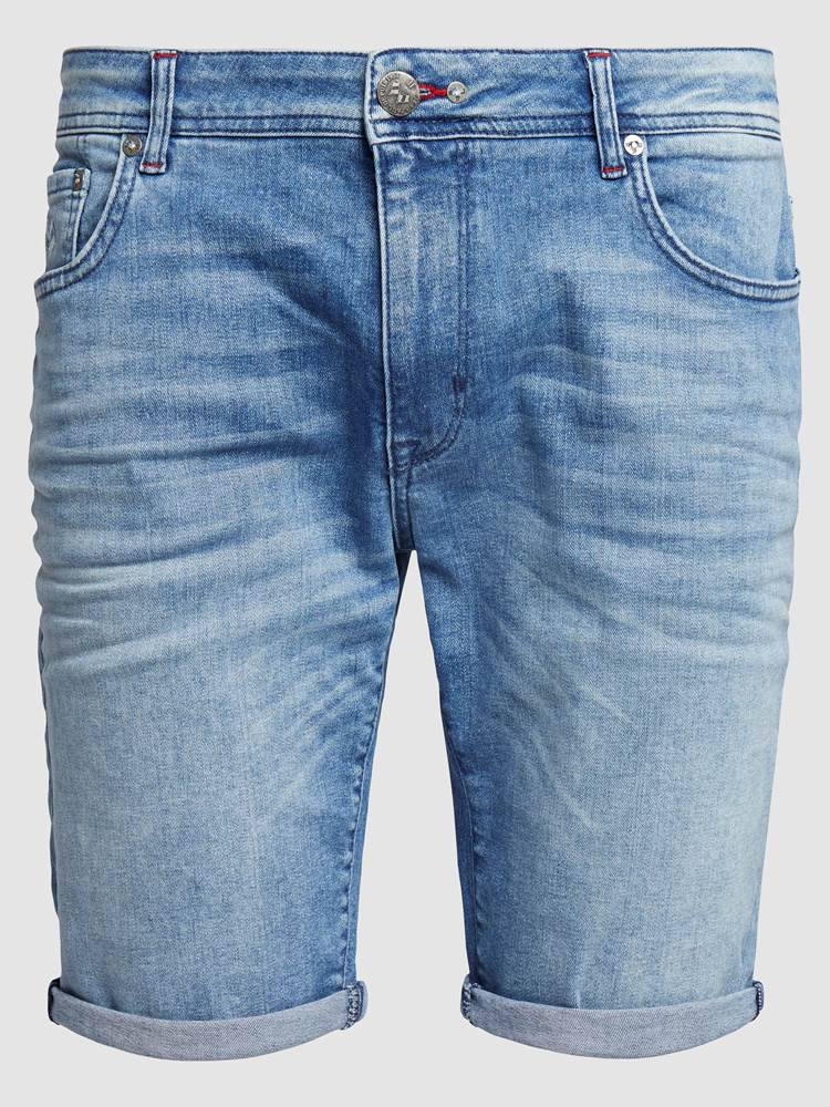 Leroy Denim Stretch Bermuda 7238028_DAD-JEANPAUL-H19-front_70125_Leroy Denim Str. Bermuda_Leroy Denim Stretch Bermuda DAD.jpg_Front||Front