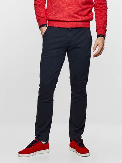 SLIM CHINO STRETCH TWILL ENB