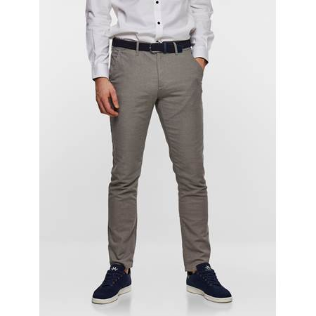 SLIM CHINO STRUCTURE STRETCH