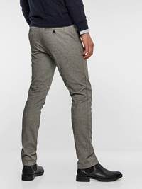 SLIM CHINO LIGHT GREY MELANGE STRETCH 7235410_IEF-MADEBYMONKIES-NOS-Modell-back_29087_SLIM CHINO LIGHT GREY MELANGE STRETCH IEF.jpg_Back||Back