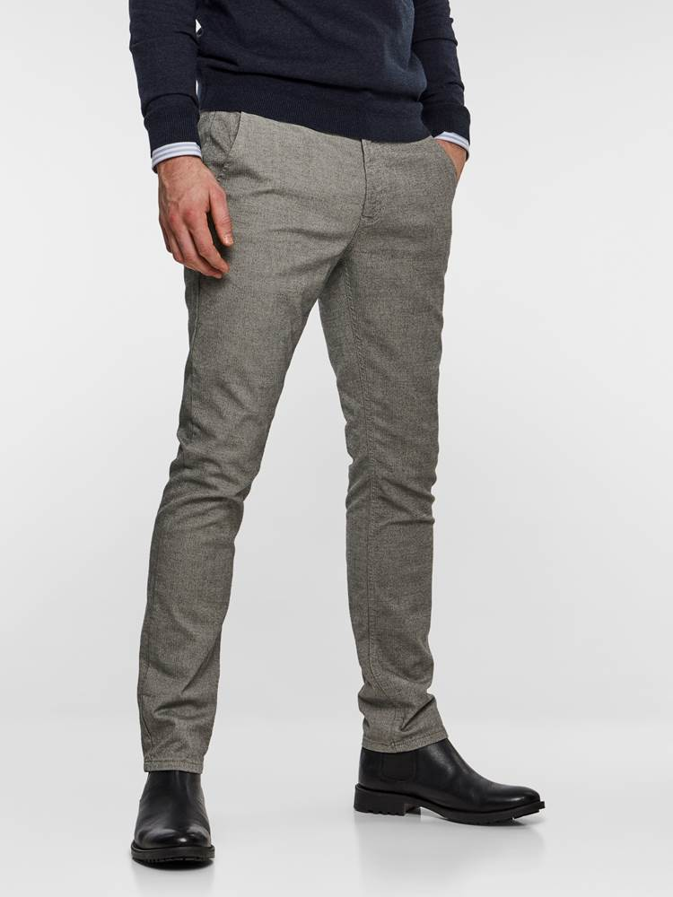 SLIM CHINO LIGHT GREY MELANGE STRETCH 7235410_IEF-MADEBYMONKIES-NOS-Modell-right_72212_SLIM CHINO LIGHT GREY MELANGE STRETCH IEF.jpg_Right||Right