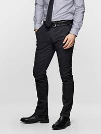SLIM CHINO GREY MELANGE STRETCH 7235411_ICO-MADEBYMONKEYS-S19-Modell-Left_SLIM CHINO GREY MELELANGE STRETCH ICO_SLIM CHINO GREY MELANGE STRETCH ICO.jpg_Left||Left