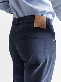 Claude 5 pocket Bukse 7235211_JEAN PAUL_CLAUDE SOFT DRILL STRETCH_BACK_L_EM6_Claude 5 pocket bukse EM6_Claude 5 pocket Bukse EM6.jpg_