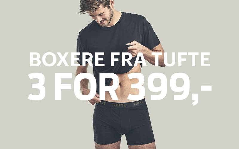 Boxere 3 for 399,-