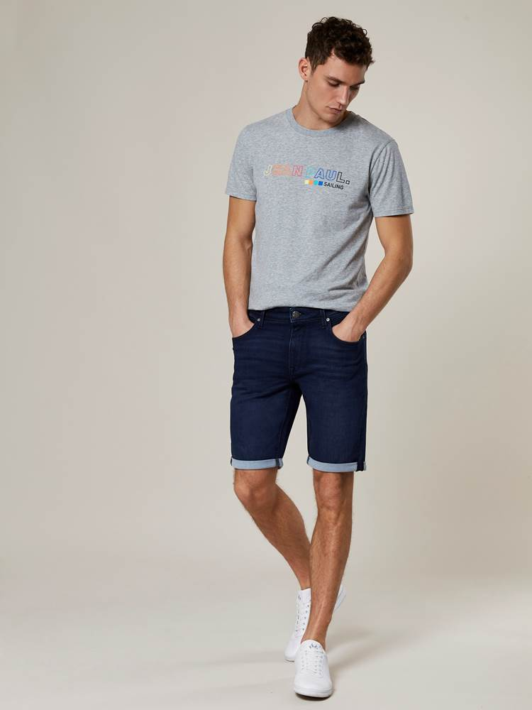 Andre Knit Stretch Bermuda Shorts 7242980_D06-JEANPAUL-H20-Modell-front_81447_Andre Knit Stretch Bermuda Shorts D06.jpg_Front||Front