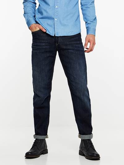 REGULAR RALPH DK BLUE STRETCH D04