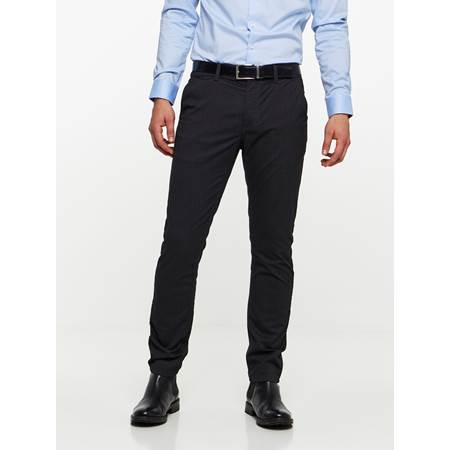 SLIM CHINO MELANGE STRETCH PANT