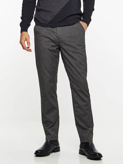 SLIM CHINO MELANGE STRETCH PANT ID9
