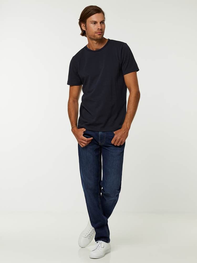 CASUAL T-SKJORTE 7244399_C27-HENRYCHOICE-A20-Modell-front_18046.jpg_Front||Front
