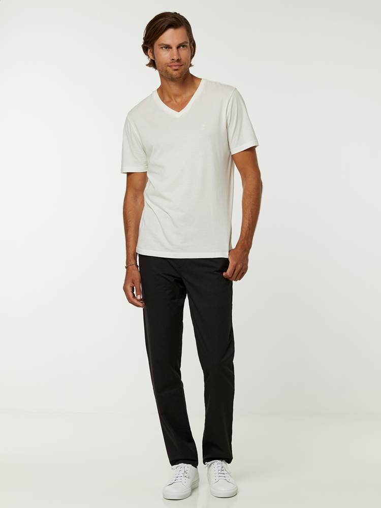 Slim Melange Chino 7244882_ID9-HENRYCHOICE-A20-Modell-front_42590.jpg_Front||Front