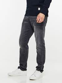 REGULAR RALPH GREY COMFORT STRETCH JEANS 7239682_DAB-HENRYCHOICE-A19-Modell-left_15629_REGULAR RALPH GREY COMFORT STRETCH JEANS DAB.jpg_Left||Left