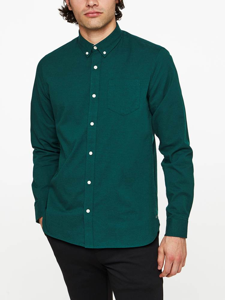 TAASTRUP SKJORTE 7239546_GUL-WOSNOTWOS-A19-Modell-front_34833_TAASTRUP SKJORTE GUL.jpg_Front||Front