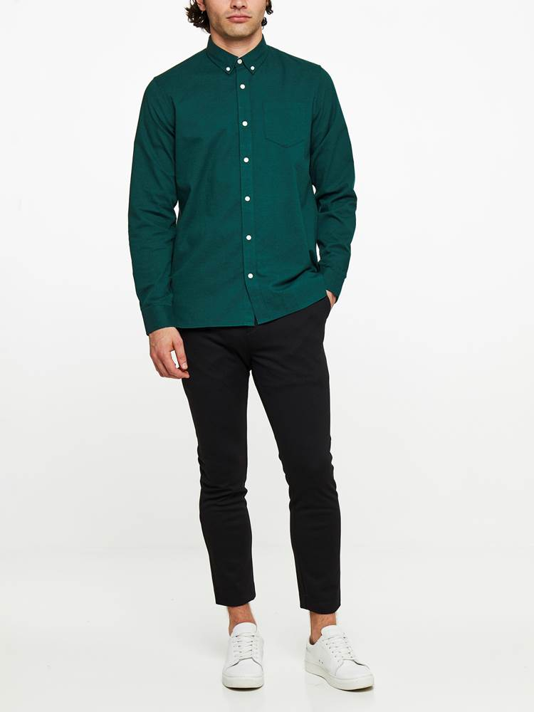 TAASTRUP SKJORTE 7239546_GUL-WOSNOTWOS-A19-Modell-front_19174_TAASTRUP SKJORTE GUL.jpg_Front||Front