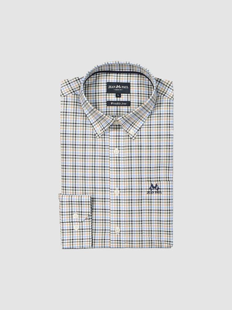 Koty Twill Skjorte - Classic Fit 7238864_E9O-JEANPAUL-A19-front_Koty Twill Shirt_Koty Twill Skjorte - Classic Fit E9O.jpg_Front||Front