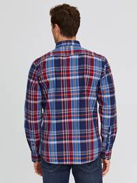 Severin Check Skjorte - Regular Fit 7244203_EGG-JEANPAUL-A20-Modell-back_43217_Severin Check Skjorte - Regular Fit EGG.jpg_Back||Back