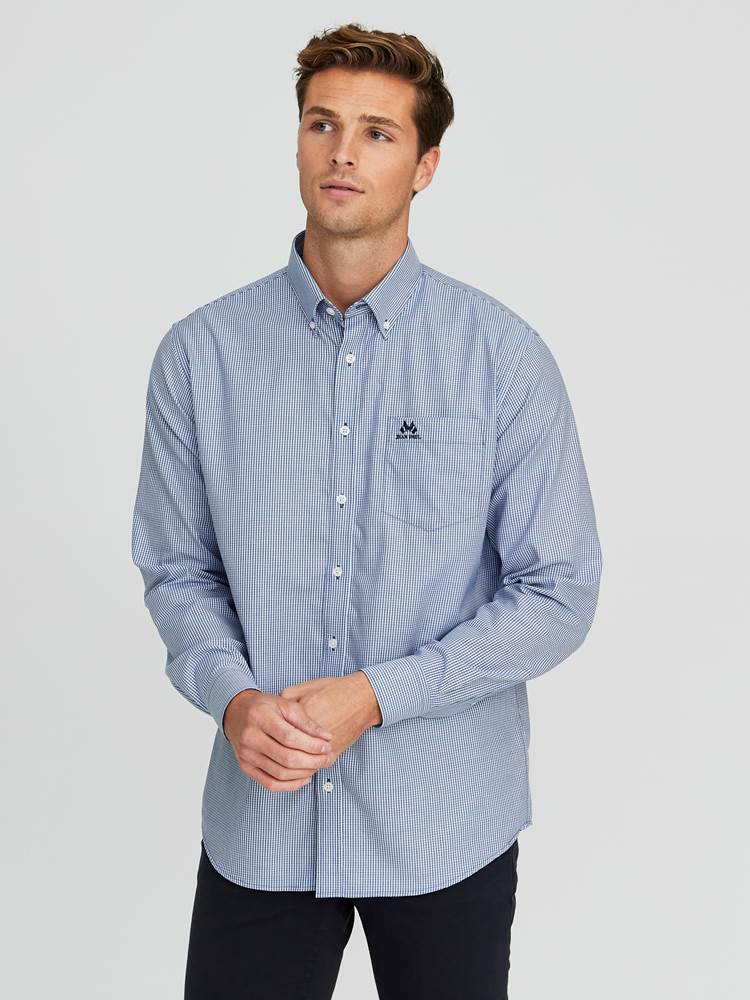 Kent Twill Skjorte - Classic Fit 7238988_EGU-JEANPAUL-A19-Modell-front_74911_Kent Twill Skjorte - Classic Fit EGU.jpg_Front||Front