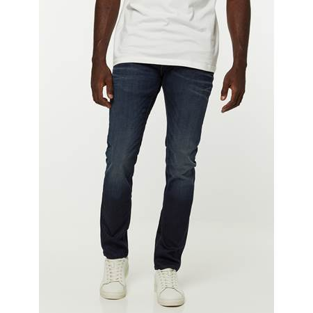 SKINNY SID BLUE COATED STRETCH JEANS