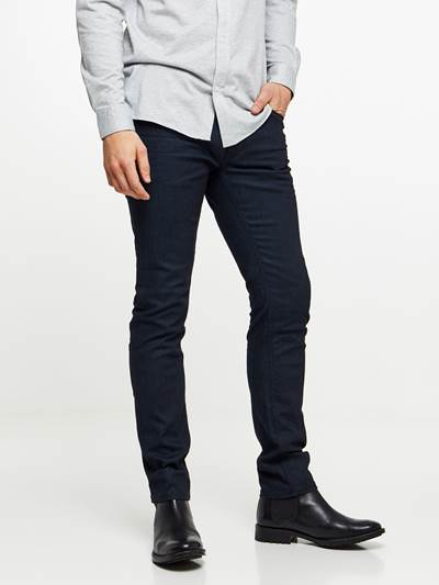 SKINNY FIT BLUE STRETCH JEANS D03