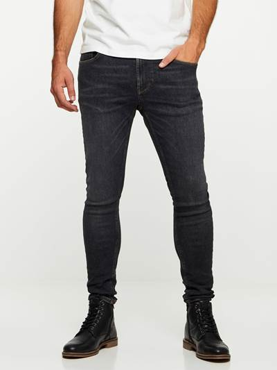 SKINNY STAN BLACK YD SUPER STRETCH JEANS D06