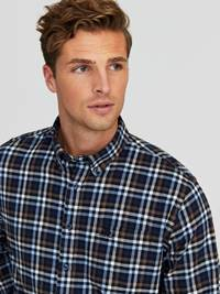 Kristof Flanell Skjorte - Classic Fit 7245186_ENB-JEANPAUL-W20-Modell-front_60268_Kristof Flanell Skjorte- Classic fit ENB_Kristof Flanell Skjorte - Classic Fit ENB.jpg_Front||Front
