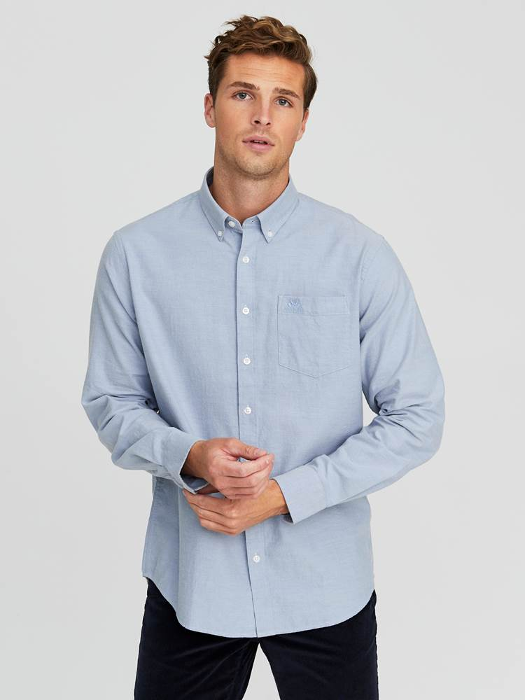 Keith Flanell Skjorte - Classic Fit 7245187_E9O-JEANPAUL-W20-Modell-front_93260_Keith Flanell Skjorte- Classic fit E9O_Keith Flanell Skjorte - Classic Fit E9O.jpg_Front||Front
