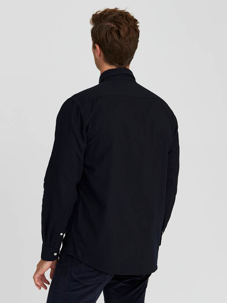 Keith Flanell Skjorte - Classic Fit 7245187_EM6-JEANPAUL-W20-Modell-back_74574_Keith Flanell Skjorte- Classic fit EM6_Keith Flanell Skjorte - Classic Fit EM6.jpg_Back||Back