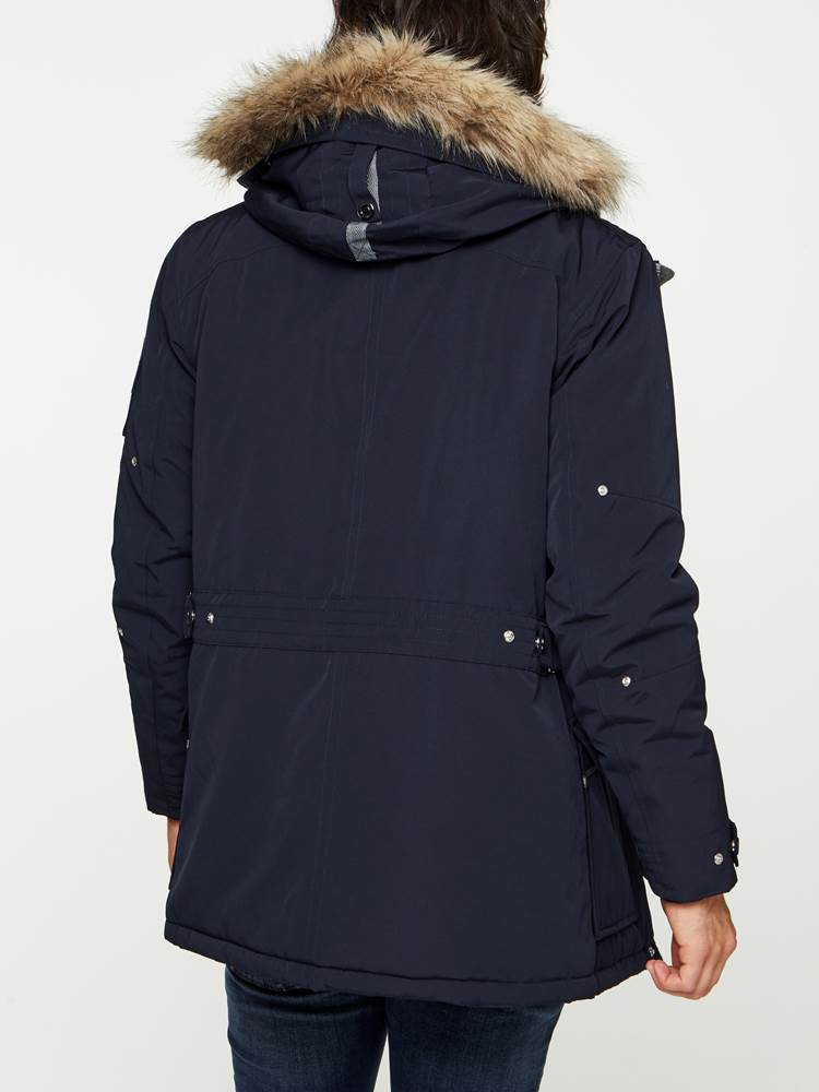 EVEREST PARKA 7240417_EGR-MADEBYMONKIES-W19-Modell-back_28100_EVEREST PARKA EGR.jpg_Back||Back