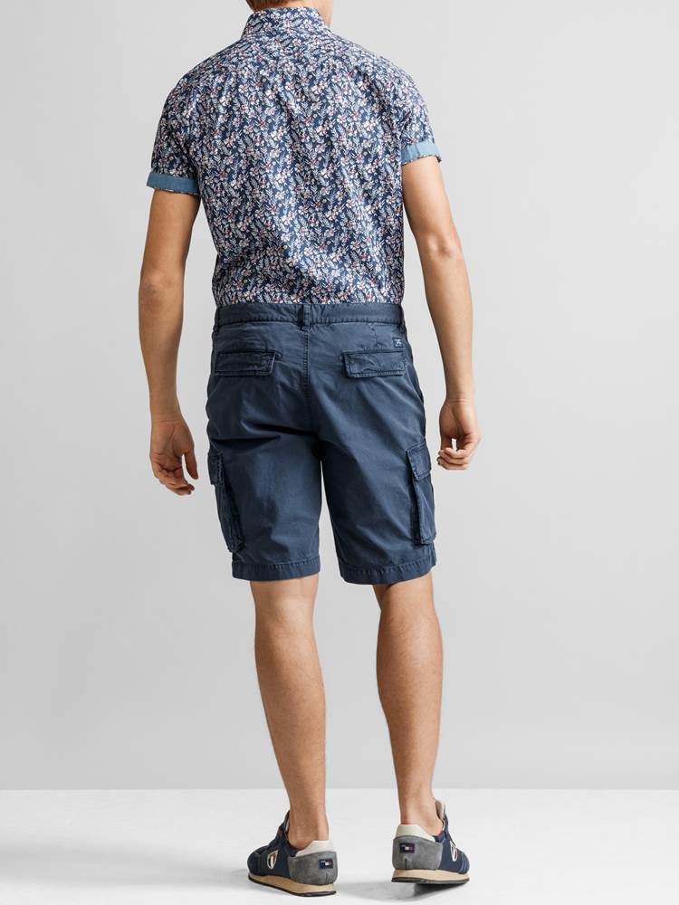 Mike Cargo twill shorts 7232238_JP52_MIKE CARO TWILL BERMUDA_BACK_EGV_Mike Cargo twill shorts EGV.jpg_Front||Front