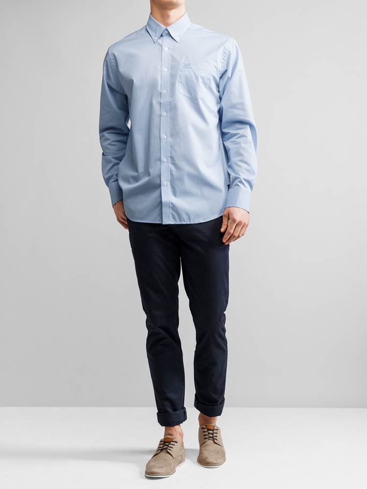 Evendy Poplin Skjorte 7221095_JEAN PAUL_EVENDY POPLIN SHIRT_FRONT_L_E90_Evendy Poplin Skjorte E9O.jpg_