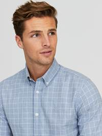Marc Twill Skjorte - Regular Fit 7244257_E9O-JEANPAUL-A20-Modell-front_64979_Marc Twill Skjorte - Regular Fit E9O.jpg_Front  Front
