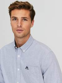 Victor Oxford Skjorte - Regular Fit 7244209_EGU-JEANPAUL-A20-Modell-front_56813_Victor Oxford Skjorte - Regular Fit EGU.jpg_Front||Front