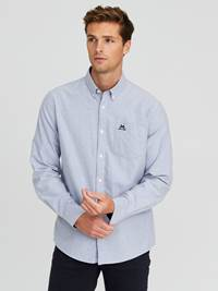 Victor Oxford Skjorte - Regular Fit 7244209_EGU-JEANPAUL-A20-Modell-front_96739_Victor Oxford Skjorte - Regular Fit EGU.jpg_Front||Front