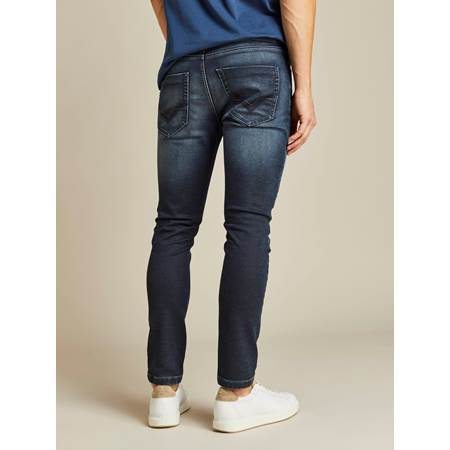 David Coated Jogg Stretch Denim Bukse
