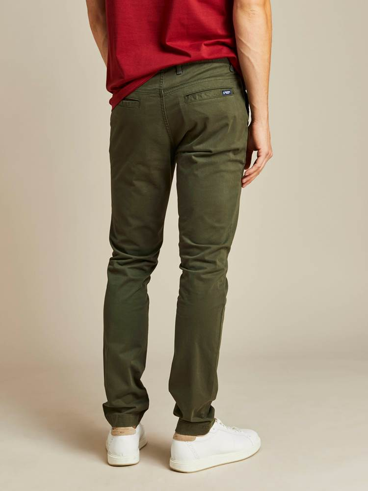 Brian Stretch Chino Bukse 7238709_GUC_JEAN PAUL_A19_Modell-back_Brian Stretch Chino Bukse GUC.jpg_